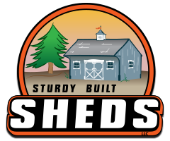Sturdy Built Sheds Logo